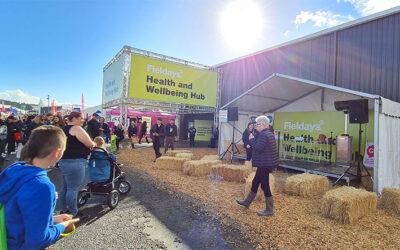 Stellar success – 33,000 visitors through the Health Hub